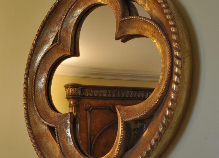 clover mirror portofino